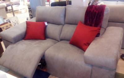 Sofa 2 relax motor. Antes 1.379 €
