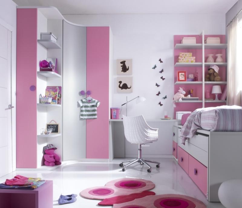 Juveniles muebles mobelec - Decoracion habitaciones juveniles nina ...