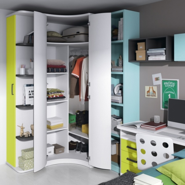 Juveniles muebles mobelec for Mueble juvenil diseno